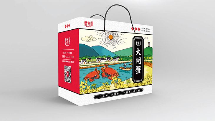 蟹束阁大闸蟹礼盒