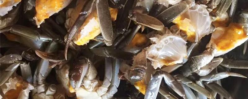 为什么大闸蟹死了不能吃
