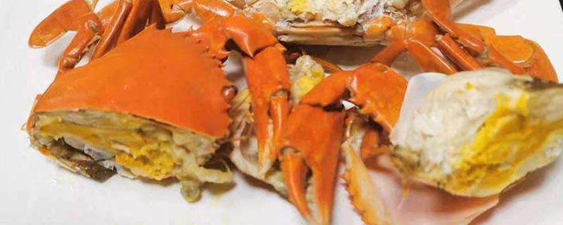 青蟹死了能吃吗