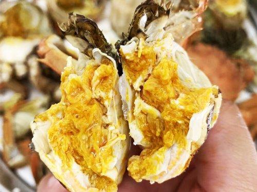 大闸蟹黄是稀的能吃吗