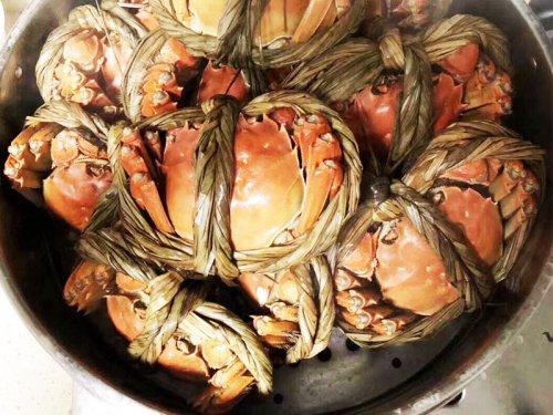 开水蒸大闸蟹需要几分钟能熟