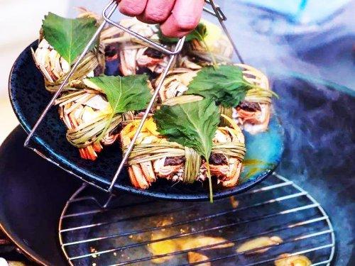 蒸大闸蟹用的紫苏是干的还是新鲜的