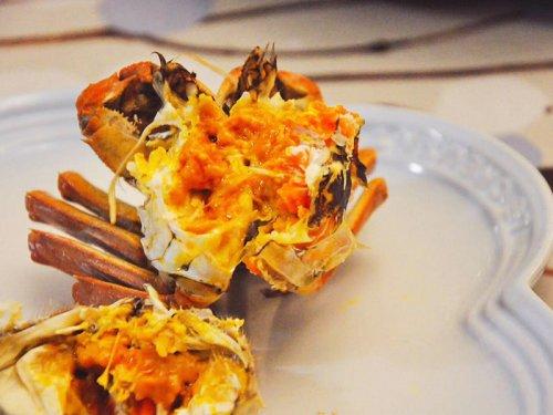 大闸蟹怎么处理内脏