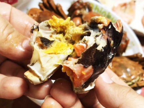 大闸蟹内脏能不能吃