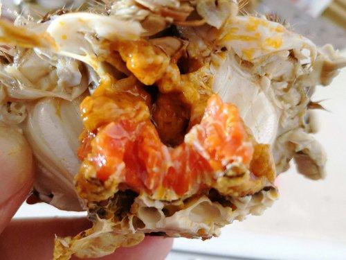 吃大闸蟹能吃菠萝吗