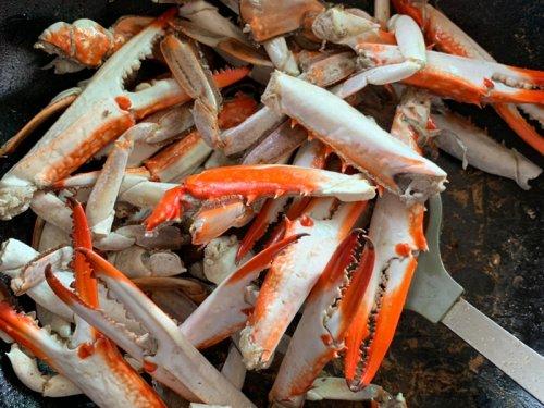梭子蟹蒸多久