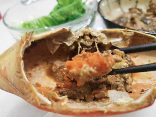 面包蟹吃什么食物