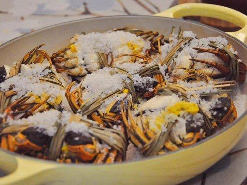 盐焗大闸蟹可以放多久