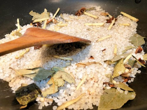 盐焗大闸蟹可以用细盐做吗