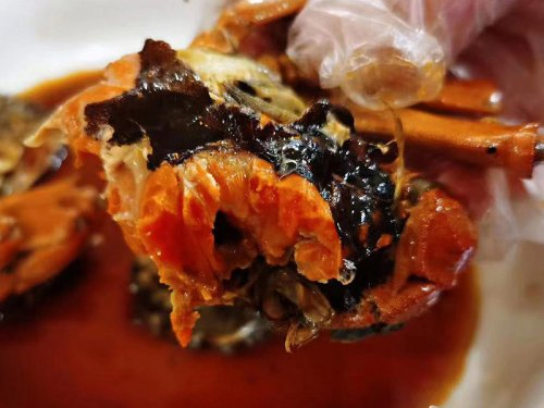 煮了的大闸蟹第二天再热能吃吗
